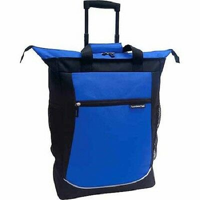 "Travelers 20"" Rolling Tote Telescopic Handle Wheeled Airline Carry-on Shopper"