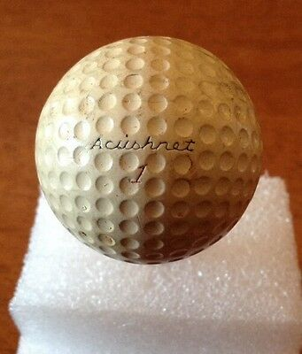 Vintage Collectable Golf Ball Pinnacle Acushnet # 1 Circa 1940's Rare Unique PW