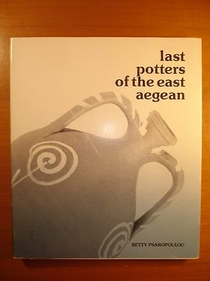 Greek Book The Last Potters Of The Aegean Betty Psaropoulou 1984 Great Scarce!