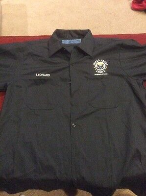 United States Senate Sergeant At Arms Front Button Size Large Shirt