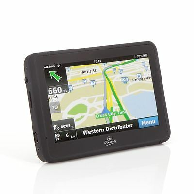 "4.3"" INCH GPS In-Car Navigation SAT NAV, SPEED & RED camera alert touch screen"