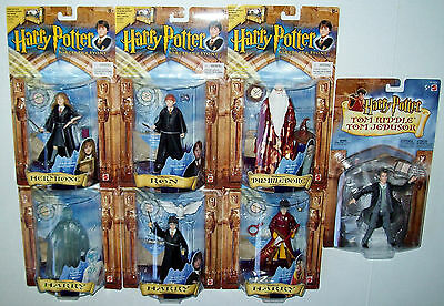 Harry Potter and the Sorcerer's Stone Lot of 7 Figures NOC! Mattel 2001-2002
