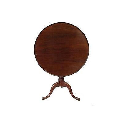 18th C American Bird Cage Tilt Top Table