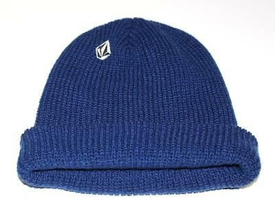 e0bc8f9d VOLCOM FULL STONE Mens Headwear Beanie Hat - Navy One Size - $28.66 ...