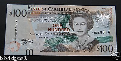 Eastern East Caribbean States $100 Dollar Banknote P-55 UNC