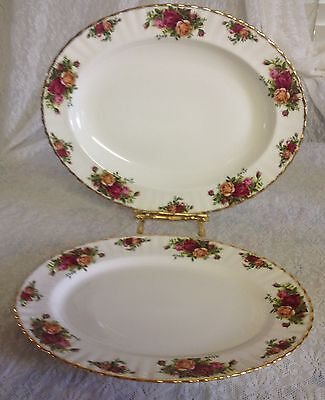Oval Serving Tray/Platter Bone China Royal Albert Country Roses - Holiday Spec