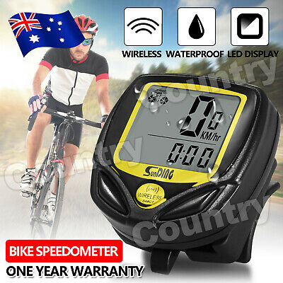 OZ Waterproof Bicycle Speedometer Wireless Cycle Bike Meter Computer Odometer