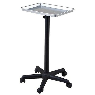 TROLLEY ROLLABOUT COLOR CHEMICAL ALUMINUM TRAY CART BEAUTY SALON SPA EQUIPMENT