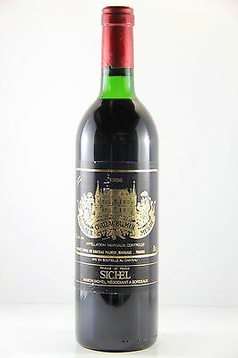 Chateau Palmer 1986 Red Wine (Base of neck), Bordeaux