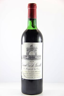 Chateau Leoville Las Cases 1974 Red Wine (Very High Shoulder), Bordeaux