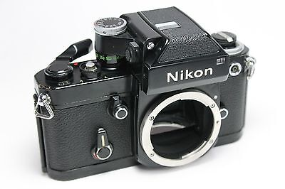 """""""Excellent"""" Nikon F2 Photomic Black SLR Film Camera Body Only From Japan"""