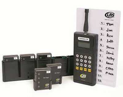 Long Range Systems LRS-Kit-Staff 5 Long Range Private Page System with 5 Pagers