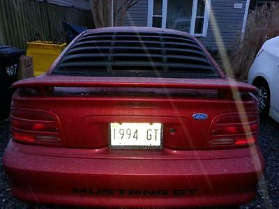 Ford : Mustang GT Coupe 2-Door 1994 mustang gt 5.0 302 one owner only with high perfomance parts
