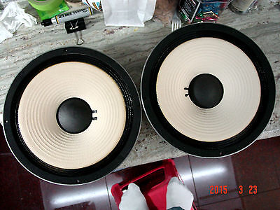 """TWO PIECES JBL 2213 12""""  LOW FREQUENCY WOOFERS/JBL STUDIO MONITOR **L@@K**"""
