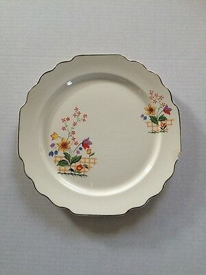 "Vintage WS GEORGE 'LIDO' CANARYTONE Dinner Plate 10 1/8 "",  #136A"