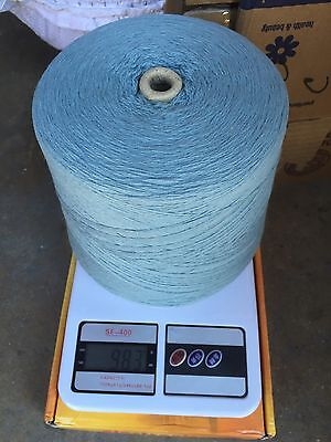blend with 70% lamswool ,20% angora & 10% nylon yarn cone color in babyblue