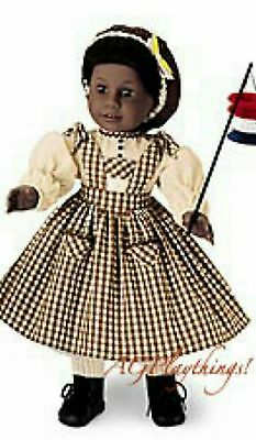 American Girl Addy's Birthday Pinafore & Snood (Pleasant Company) Retired