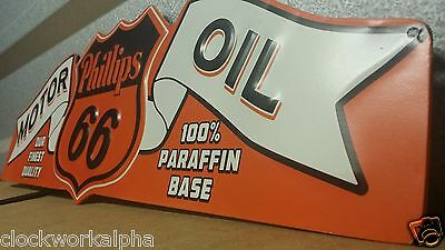 Wings PHILLIPS 66 SIGN street shield  Products Mobil Texaco Marine Gas Oil