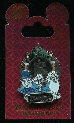 The Haunted Mansion - Logo with Hitchhiking Ghosts - Rack Disney Pin 85865