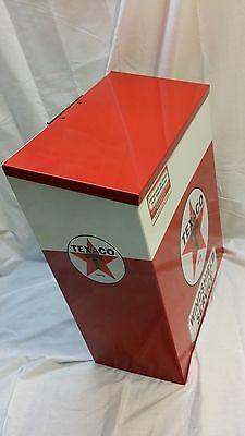 TEXACO GAS OIL PAPER SHOP TOWEL DISPENSER GARAGE SERVICE STATION STORE DISPLAY