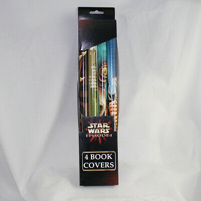 Star Wars Episode I The Phantom Menace Book Covers 1 Set of 4 Darth Maul Sidious