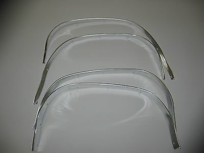 68 69 Chevelle and El Camino Wheel Well Molding Set