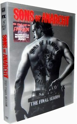 Sons of Anarchy: The Final Season 7 (DVD, 2015, 5-Disc Set) Fast Shipping, New