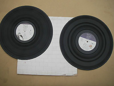 PINK FLOYD THE WALL vinyl records original 1979 pathe marconi France set of 2