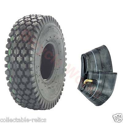 1X Tyre Tube 4.10 / 3.50-4 Black Wheelchair Trolley Mobility Scooter 4.10X4 940