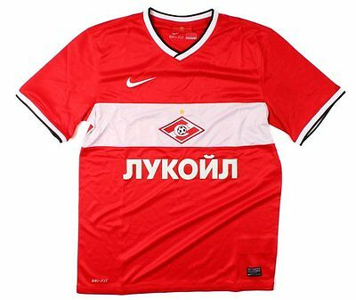 New Authentic Nike Spartak Moscow 2013/14 Home Shirt   Adults S  L  XL