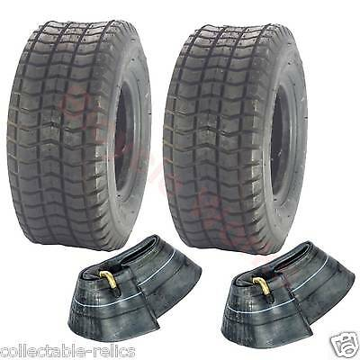 2X Tyres Tubes 9x3.5-4 Black Wheelchair Trolley Electric Scooter Skateboard 947