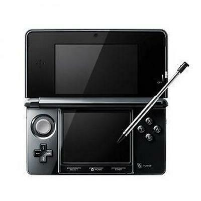 New Nintendo 3DS Metallic Clear Black Video Games