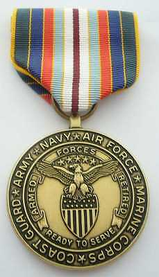 Armed Forces Retired Commemorative Medal