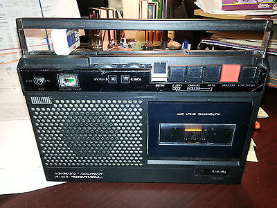 Vintage REALISTIC RADIO SHACK Portable Cassette Player Recorder CTR-51 Mod14-813