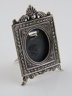 Miniature Sterling 925 Silver Picture Frame