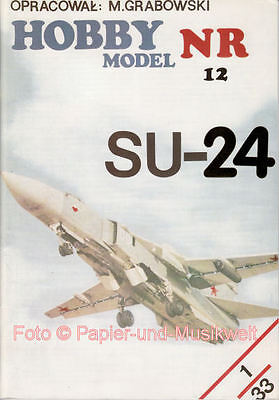 "Hobby Model - 12 - Suchoi SU-24 ""Fencer"" - 1:33"