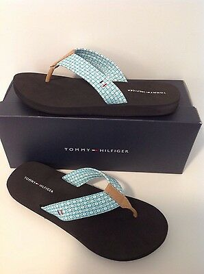 TOMMY HILFIGER CABER MEDIUM BLUE FABRIC NEW TO THE MARKET 100% AUTHENTIC