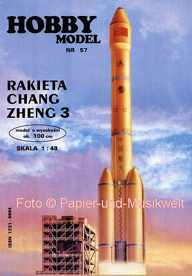 "Hobby Model - 57 - Rakete ""Chang Zheng 3"" - 1:48"