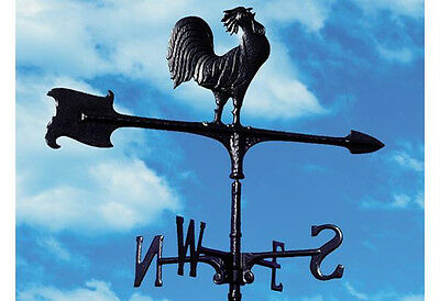 Rosie the Rooster Aluminum Weathervane with Free Rooftop mount