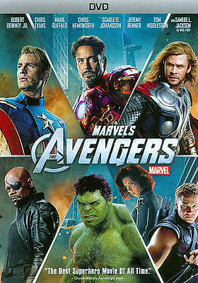 THE AVENGERS  (DVD, 2012) - NEW SEALED DVD GET IT LIGHTNING FAST! FREE SHIPPING!