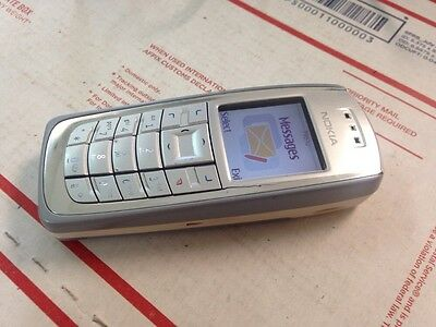 Nice GSM Unlocked Tri-Band Nokia 3120 Sturdy Basic Bar Phone ATT T-Mobile Telcel