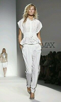 pants SPORTMAX by  MAX MARA, size 40 IT, 8 GB, 6 USA, new from shop cotton