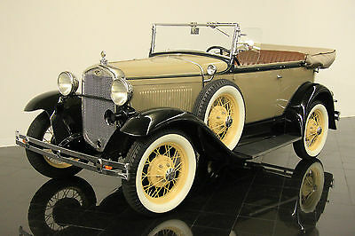 Ford : Model A Deluxe Phaeton Very rare '31 A 180A Deluxe Phaeton!  201ci I4  Excellent presentation!