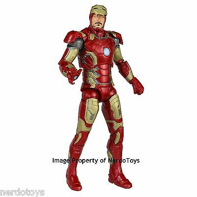 """Marvel Legends The Avengers Thanos Wave 6"""" Iron Man Mark 43 LOOSE NEW IN STOCK"""