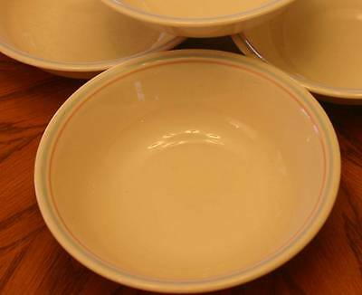 Corelle - Set of (4) Small 8oz Bowls - Forever Yours Pattern