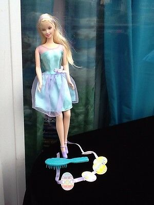 1966 Twist & Turn Easter Platinum Blonde Barbie Doll Mattel Indonesia