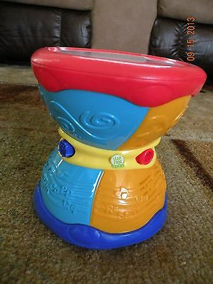 LEAP FROG - DRUM LAUGH & LEARN MUSICAL GROOVE ABC ENGLISH/SPANISH