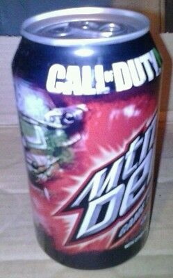 1 Full ~ MOUNTAIN DEW ~ GAME FUEL CALL OF DUTY 2011 Citrus Cherry Mtn Dew (id: C