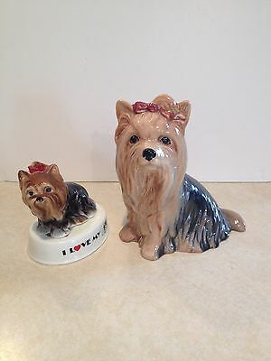 Vintage Lot of Yorkshire Terrier Dogs