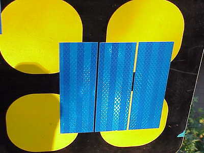 3M High Intensity prismatic reflective tape 3 strips 2 by 8""